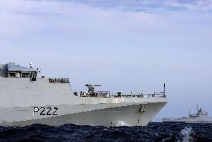 Russians Royal Navy patrol ship HMS Forth is today monitoring the progress of a Russian vessel through the English Channel and Dover Strait.