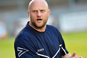 Rugby Town boss Carl Adams