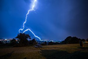 Lightning AT portsdown hill. Picture: Andrew Price