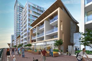 Artist's impression of the King Alfred scheme