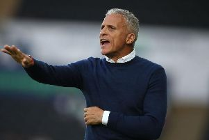 Keith Curle was pleased with his side's showing at Swansea. Picture: Pete Norton
