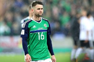 Northern Ireland's Oliver Norwood has calls time on international career.