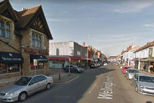 A man died after being hit by a car on Wellingborough Road on Saturday.