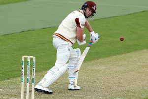 Alex Wakely made a fine century for Northants