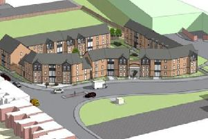 An artists impression of how the scheme would look