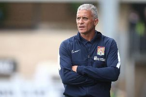 Busy deadline day? Keith Curle still wants to sign one or two more players. Picture: Pete Norton