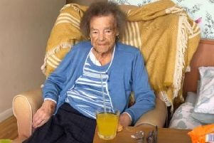 "Northamptonshire Police say Betty's health ""quickly deteriorated"" following the crime."