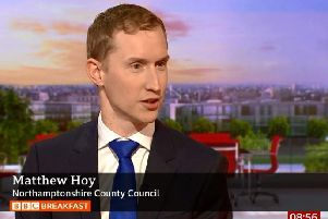 Matthew Hoy, head of emergency planning, revealed he keeps two grab bags in case of emergency