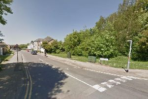 The incident took place in Grange Road.
