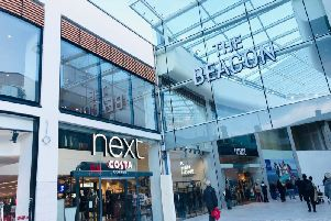 A new sports bar is opening in The Beacon shopping centre in Eastbourne soon