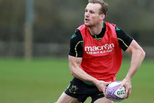 Rory Hutchinson will start for Saints against Leinster