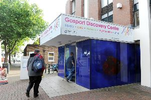 Gosport Discovery Centre. There will be a 1.7m savings programme in libraries - although no particular library has been singled out yet