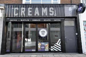 Creams shop in Terminus Road, Eastbourne (Photo by Jon Rigby) SUS-190909-160139008
