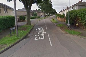 The incident took place in the Edgar Road area. Credit: Google