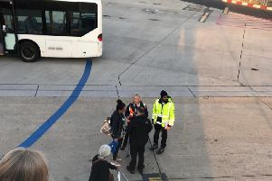 The man is led away (SWNS)