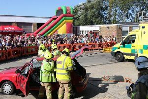 The Bognor Regis fire station open day