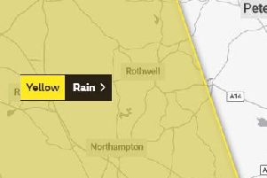 The weather warning covers much of the county.