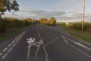 The crash was on the A5 near the turn for Bugbrooke. Photo: Google