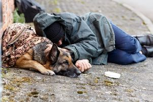 Rough sleeper stock image. Picture: Shutterstock