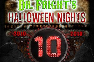 The event is back for 16 nights starting this month ahead of Halloween.