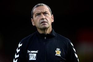 Colin Calderwood took charge of Cambridge last season