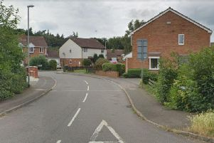 The incident took place in Blackthorn, Northamptonshire Police today said.
