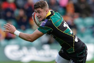 James Grayson can't wait to walk out at Welford Road this weekend