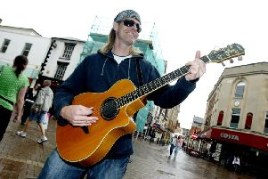 Buskers could soon have restrictions place on them in Northampton town centre