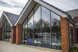 Moulton library is in the village's community centre