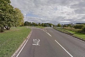 The crash was on the A425 in Daventry. Photo: Google