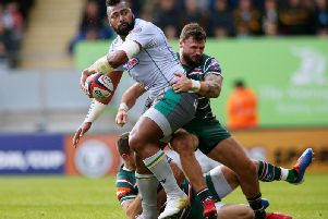 Taqele Naiyaravoro is a doubt for this weekend's game against Worcester