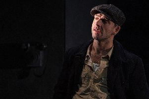 Nicholas Karimi (Eddie) in A View from the Bridge. Picture: Ian Hodgson
