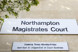 They appeared at Northampton Magistrates' Court