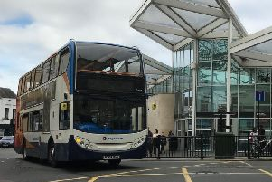 The girl was sexually assaulted on a bus in Northampton