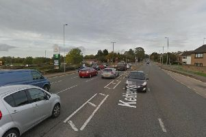 The car was reportedly chased on Kettering Road, near Morrisons. Photo: Google