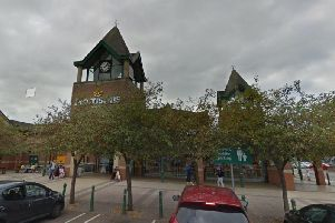 The woman was robbed at the ATM outside Morrisons on Victoria Promenade, Northampton. Photo: Google