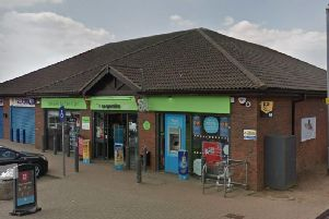 The Co-operative Food store in Fieldmill Road, Bellinge, was robbed. Photo: Google