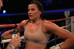 Chantelle Cameron is in action this weekend