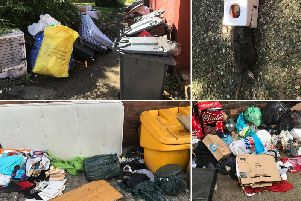 Previous fly-tipping incidents around Northampton