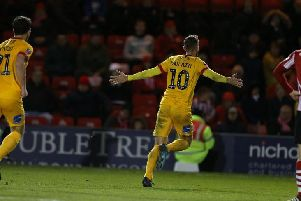 Cobblers were beaten by a stoppage-time winner at Lincoln in the first round of last season's FA Cup - despite Kevin van Veen equalising a few minutes earlier.