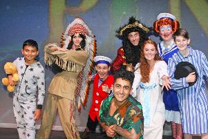 Horsham Capitol Theatre's cast of Peter Pan. Photo by Derek Martin Photography. SUS-190930-152405008