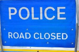 A cyclist was seriously injured in a collision with a Mercedes in Northampton.