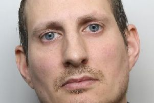 Chris Rufford made the decision he wanted to go back to prison and walked into a women's toilets to wait for the police.