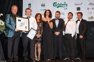Murrays at Whittlebury Park was announced as the winner of Restaurant of the Year at the Carlsberg UK Northamptonshire Food & Drink Awards last week.