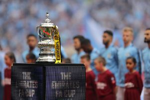 The FA Cup in all of its glory.