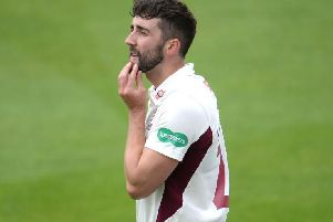 Pace bowler Ben Sanderson was Northants' top wicket-taker in first-class cricket in 2019