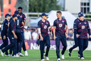 Northants start their Vitality T20 Blast campaign against Lancashire in Liverpool