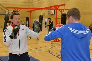 Through satellite funding Northamptonshire Sport was able to pay for Malcolm Arnold School to host sessions with Kings Heath Boxing Club two years ago.
