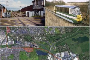 A transport group wants a disused railway line to be put to work as Northampton's own shuttle link to Brackmills.