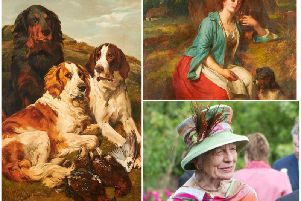 Two valuable paintings from the collection of Mrs Joan Tice OBE are heading to auction.